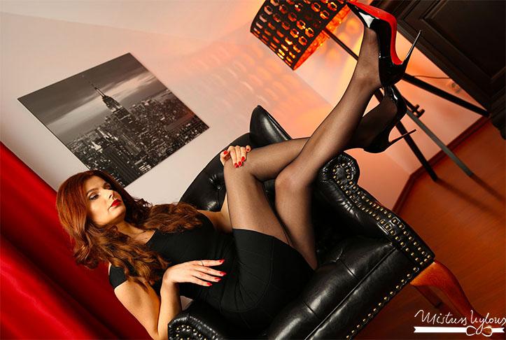 elegant dominatrix