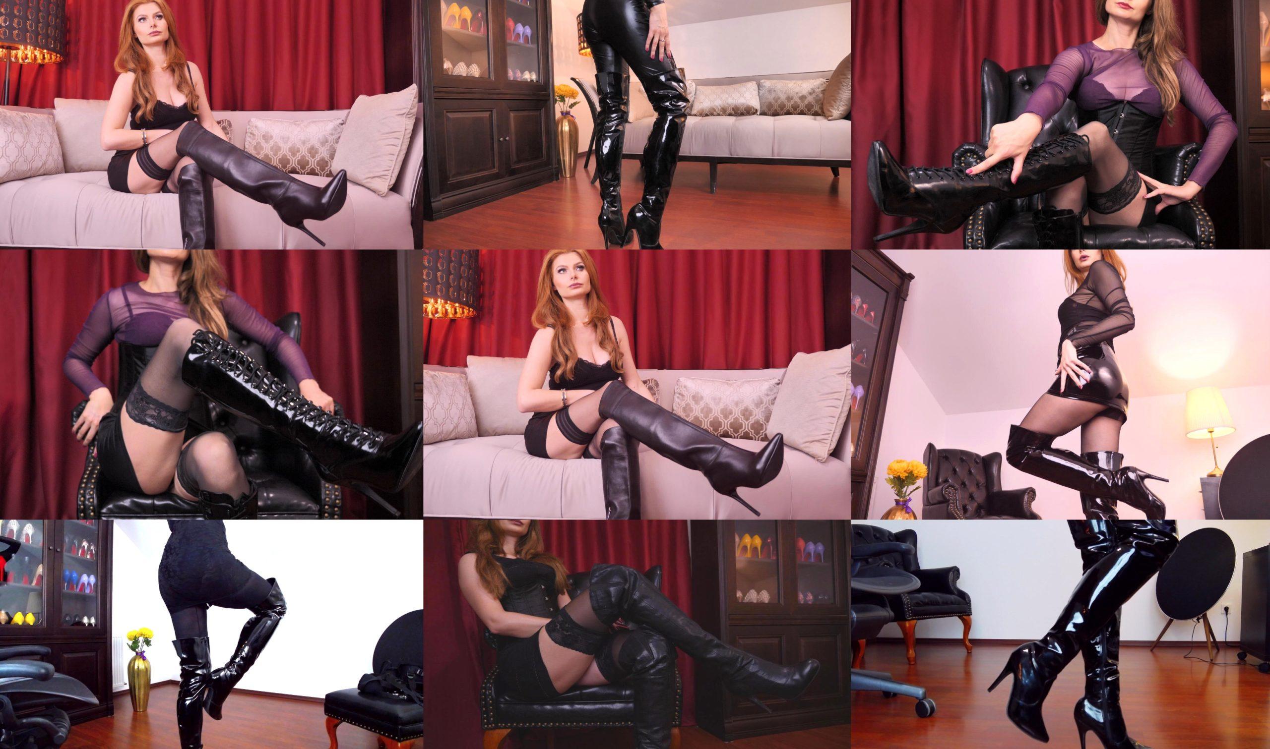 pvc boots Mistress