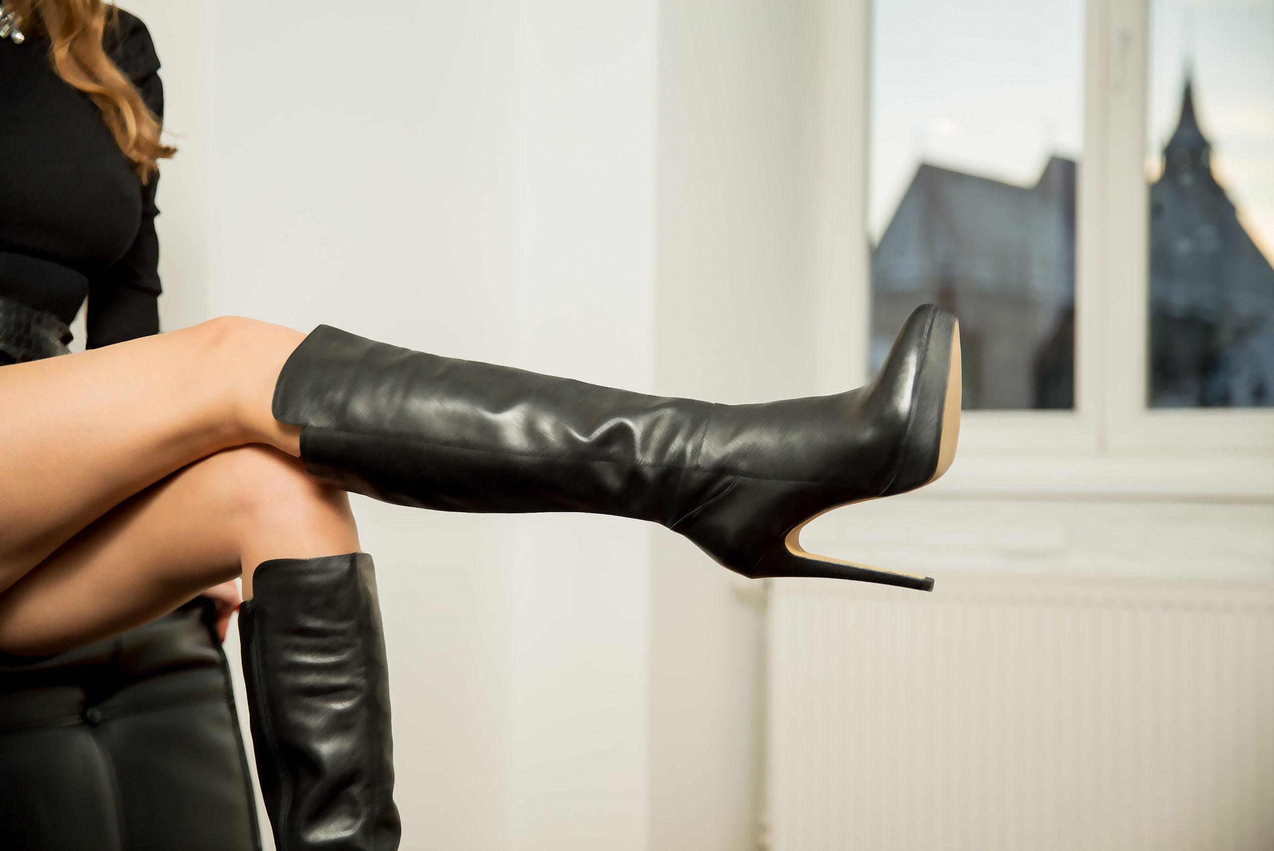femdom mistress boots